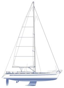 Bavaria 49 sail plan